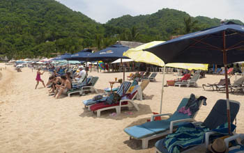 lounging in Yelapa