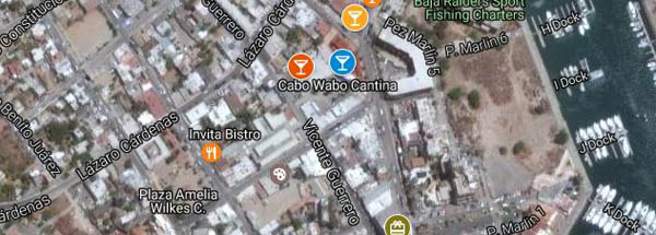 Cruising to Cabo San Lucas - Cabo Wabo | Downtown - photos ... on map of medano beach, map of cabo area, map with resturants in cabo, map of marina cabo, map of misiones del cabo, map of cabo st. lucas, secrets resort in cabo, printable maps of cabo, map of cabo san jose del cabo resorts, map of playa grande resort in cabo, map of properties in san jose del cabo, map of los cabos, map of concord nh streets, map of baja, map of beaches cabo,